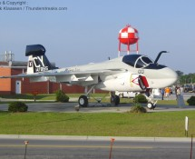 Grumman EA-6A is displayed at MCAS Cherrypoint(NC) in May 2012 (FK)