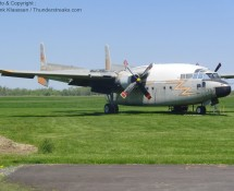 C-119G Packet at Geneseo airfield, New York, in May 2012 (FK)