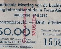 toegangskaartje-air-show-brustem-27-6-1965-coll-j-a-engels