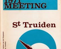programme-brochure Brustem 1971 (coll.HE)