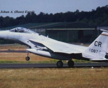 "(1992) F-15 Eagle , Wolfhounds"" , USAFE (HE)"