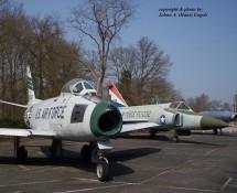 F-86F 25385 + F-102 61032 (HE)