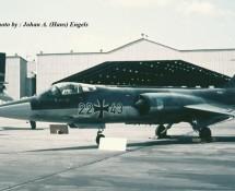 f-104 starfighter-2243 duitse-luftwaffe-frankfurt-17-5-1969-j-a-engels