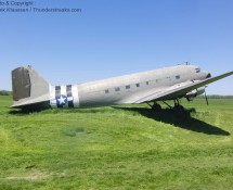 Douglas C-47A at Geneseo, NY in May 2012 (FK)