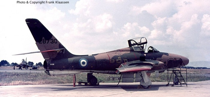 RF-84Fs of Greece (Hellenic Air Force)