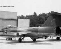F-104F , WGAF (resident) (HE)