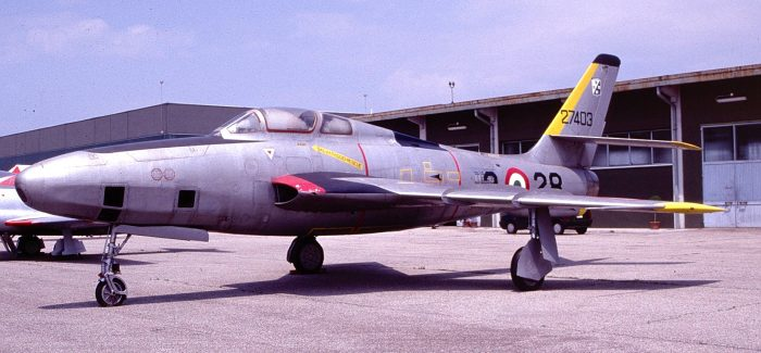 RF-84Fs of the Italian Air Force