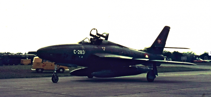 RF-84Fs of the Danish Air Force