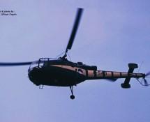 Alouette III A-543 The Grasshoppers K.Lu. Twenthe 31-8-1974 J.A.Engels