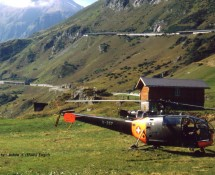 Alouette III Swiss Air Force,1987 (HE)