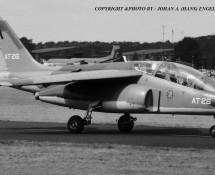 Alphajet AT-26 Belg.LM Soesterberg 1-9-1984 J.A.Engels