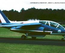 Alphajet La Patrouille de France 1- Soesterberg 1-9-1984 J.A.Engels
