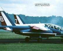 Alphajet La Patrouille de France 7 en 8 Soesterberg 1-9-1984 J.A.Engels
