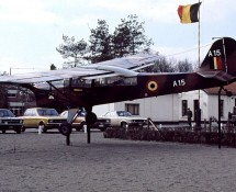 Auster A-15 at Brasschaat (B) in 1971
