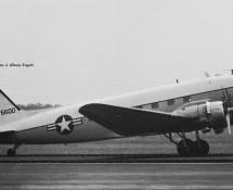 Douglas C-47, USAFE (visiting)(HE)