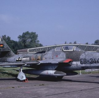 RF-84Fs of the German Air Force (Luftwaffe)
