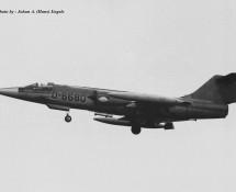 F-104G D-6680 K.Lu. Dutch Masters Operational Conversion Unit Twenthe 20-6-1968 J.A.Engels