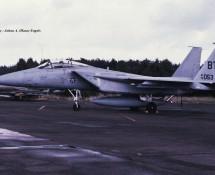 F-15A 76-053 BT (36 TFW USAFE) Kleine Brogel 24-6-1978 J.A.Engels