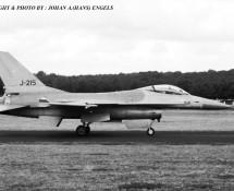 F-16A J-215 K.Lu. 322 sq.Soesterberg 1-9-1984 J.A.Engels