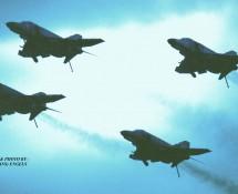 F-4F Phantom II formatie Luftwaffe Soesterberg 1-9-1984 J.A.Engels