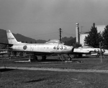 F-86F JASDF in Japan around 1970