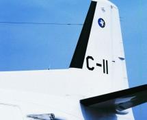 Fokker F-27 C-11 (staart) K.Lu. Eindhoven 3-7-1993 J.A.Engels