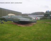 Gloster Meteor 3W-32 (I-187) K.Lu. Aviodrome Mus. 4-11-2012 J.A.Engels