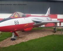 Hawker Hunter F.51 WV395 (ex Deense LM) Aviodrome Mus. 4-11-2012 J.A.Engels