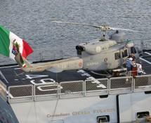 AB212 on the Commandante Cigala Fulgosi
