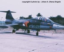 TF-104G Starfighter K.Lu. , Deelen 1988 (HE)