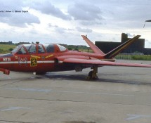Fouga Magister MT31 Bierset 21-6-1980 J.A.Engels