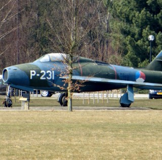 Dutch Thunderstreaks: KLu F-84Fs Out of Service