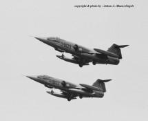 RF-104G D-8103 en D-8129 K.Lu. 306 sq. Twenthe 20-6-1968 J.A.Engels