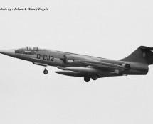 RF-104G D-8112 K.Lu. 306 sq. Twenthe 20-6-1968 J.A.Engels