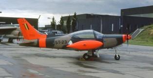 Siai-Marchetti SF.260 ST23  Bierset 21-6-1980 J.A.Engels
