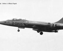 TF-104G D-5805(2) K.Lu. Dutch Masters Operational Conversion Unit Twenthe 20-6-1968 J.A.Engels