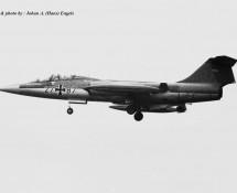 TF-104G Duitse Luftwaffe 27+87 Twenthe 20-6-1968 J.A.Engels