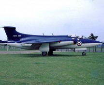 XK488 Buccaneer S1 at Yeovilton (Fleet Air Arm Museum)in 1974