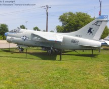 """A-7E Corsair 157506 (incorrectly marked as157500) in the colours of VA37 """"Raging Bulls"""" (FK)"""
