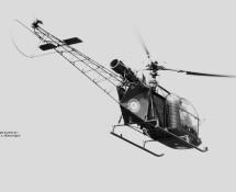 alouette 2  7-si (1007) franse-lm-le-bourget-27-28-5-1971-j-a-engels