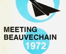 programma-brochure open dag beauvechain-1972 coll.j.a.engels