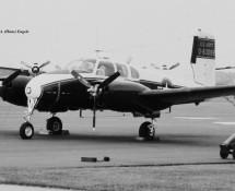 beechcraft L-23 seminole-83088 frankfurt-17-5-1969-j-a-engels