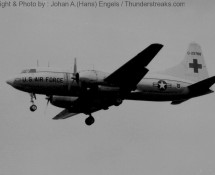 C-131 USAFE . Lakenheath . 1970 (HE)