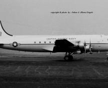 c-54 skymaster-91998 usn-keflavik-frankfurt-17-5-1969-j-a-engels