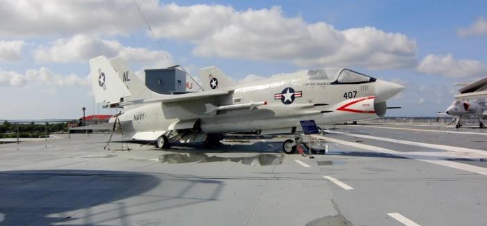 USS Yorktown, Charleston harbour, South Carolina (U.S.A.), May, 2012
