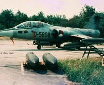 tf-104 starfighter d-5808 volkel-20-6-1970-j-a-engels