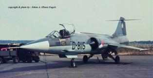 f-104 -k.lu.-d-8115-322 sq.ehv-18-9-1971-j-a-engels