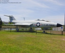 F-101F Voodoo from the 4440 Air Defence Group of Langley AFB (FK)