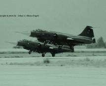 f-104 r-754-en-r-647 deense lm beauvechain-27-6-1970-j-a-engels