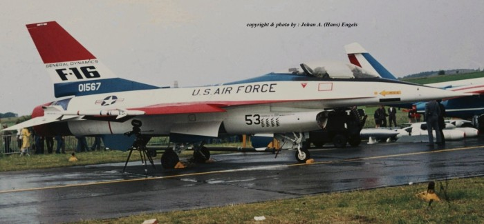 Florennes AB (Belgium) , Open Day , June 21st, 1975